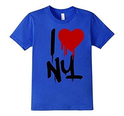 I Love New York T Shirt NY Men Women Kids Graffiti NYC