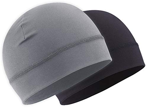 OutdoorEssentials Skull Cap/Helmet Liner/Running Hat - Cycling Cap & Winter Beanie for Men & Women. Ultimate Thermal Retention and Performance Moisture Wicking. Fits Under Helmets
