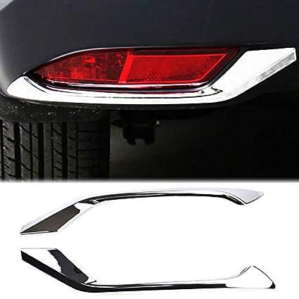 FIT For Honda VEZEL HR-V HRV 2014 2015 2016 ABS Chrome Rear Bumper Cover Trim
