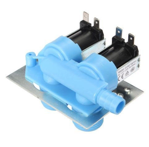 Clothes Washer Valve (Clothes Washer Water Inlet Valve for 285805 Whirlpool, Kenmore, Maytag, GE, Frigidaire, Electrolux)