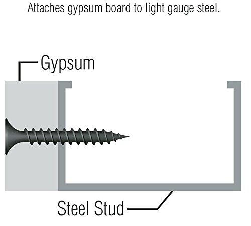 Orgill Bulk Nails 03575 Drywall Screw, 1''
