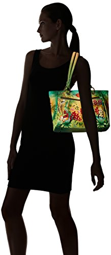 Anuschka Large Shopper with Front Pocketsrousseau's Jungle, Rsj/Rousseau's Jungle by ANUSCHKA (Image #7)