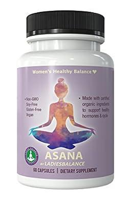 Asana By Ladies Balance Maca + Vitex + Green Tea Women's Balance 60 Ct …