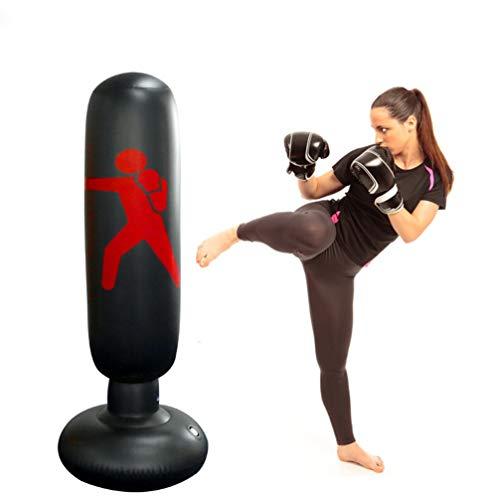 la luen Punching Bag,Child Punching Bag Free Standing Toy Youth Boxing Bag Adults Boxing Target Bag