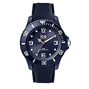 Ice-Watch – Ice Sixty Nine Dark Blue – Montre Bleue Mixte avec Bracelet en Silicone – 007278 (Medium)