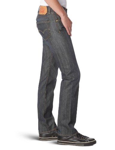 Scraped Fit Levi's Homme rigid Original 501 Bleu 0033 Jeans BqPUp