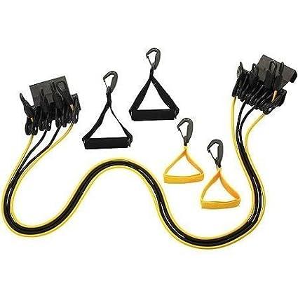 Golds Gym door resistance bands