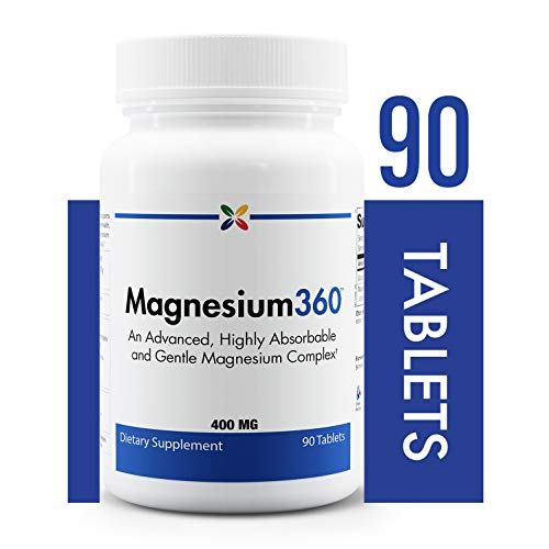 Stop Aging Now - Magnesium360 Formula - an Advanced, Highly Absorbable and Gentle Magnesium Complex - 90 Tablets