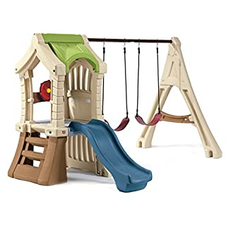 Step2 Play Up Jungle Gym and Kids Swing Set (850000)