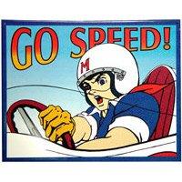 (Speed Racer - Go Speed Tin Sign 16