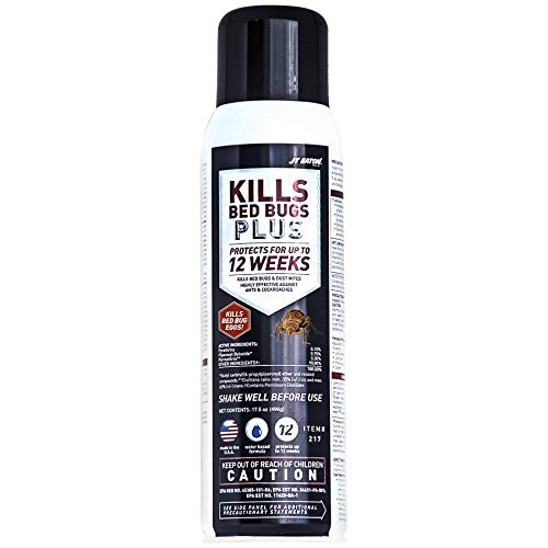 - JT Eaton 217 Kills Bed Bugs Plus Aerosol Water Based Insect Spray