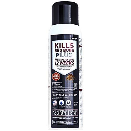 Residual Aerosol - JT Eaton 217 Kills Bed Bugs Plus Aerosol Water Based Insect Spray