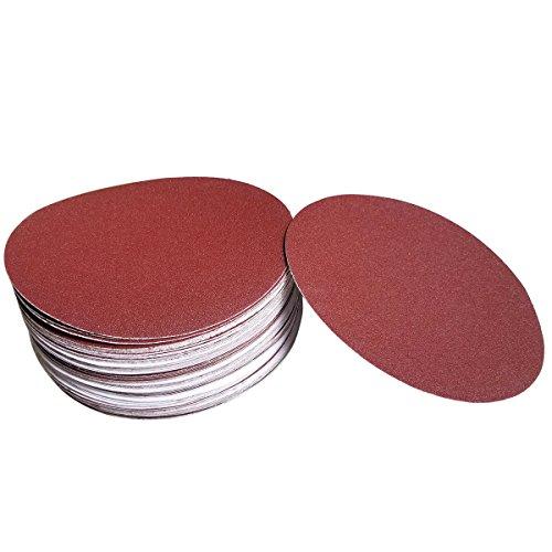 Sackorange 60 PCS 6-Inch NO-Hole PSA Aluminum Oxide Sanding Disc, Self Stick(10 Each of 80 100 120 180 240 400) by SACKORANGE (Image #6)