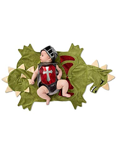 (Princess Paradise Baby Swaddle Wings Dragon Slayer, As As Shown, 0-3 Months)