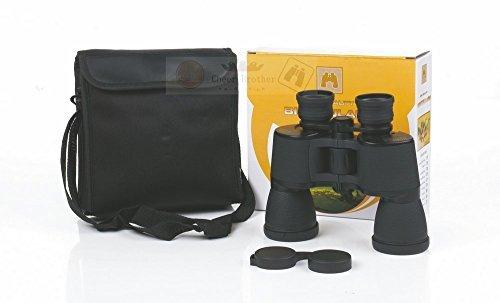 CAIDU US Army Binoculars,PowerView Super High-Powered Surveillance Binoculars, Performance Optics Falcon Telescope (Black) , Insta-Focus, BF1050 by CAIDU