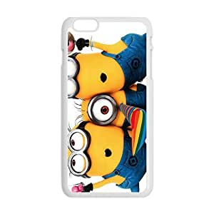 Happy Minions Case Cover For iPhone 6 Plus Case