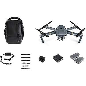 DJI Mavic Pro Combo Dron con Cámara 4K, Alcance de 7 Km, 5 Sensores Visuales, Autonomía de Vuelo 27 Minutos