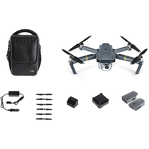 DJI Mavic Pro Bundle with Shoulder Bag,...
