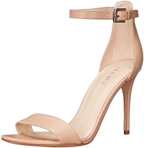 Nine West Women's Mana Leather Heeled Sandal
