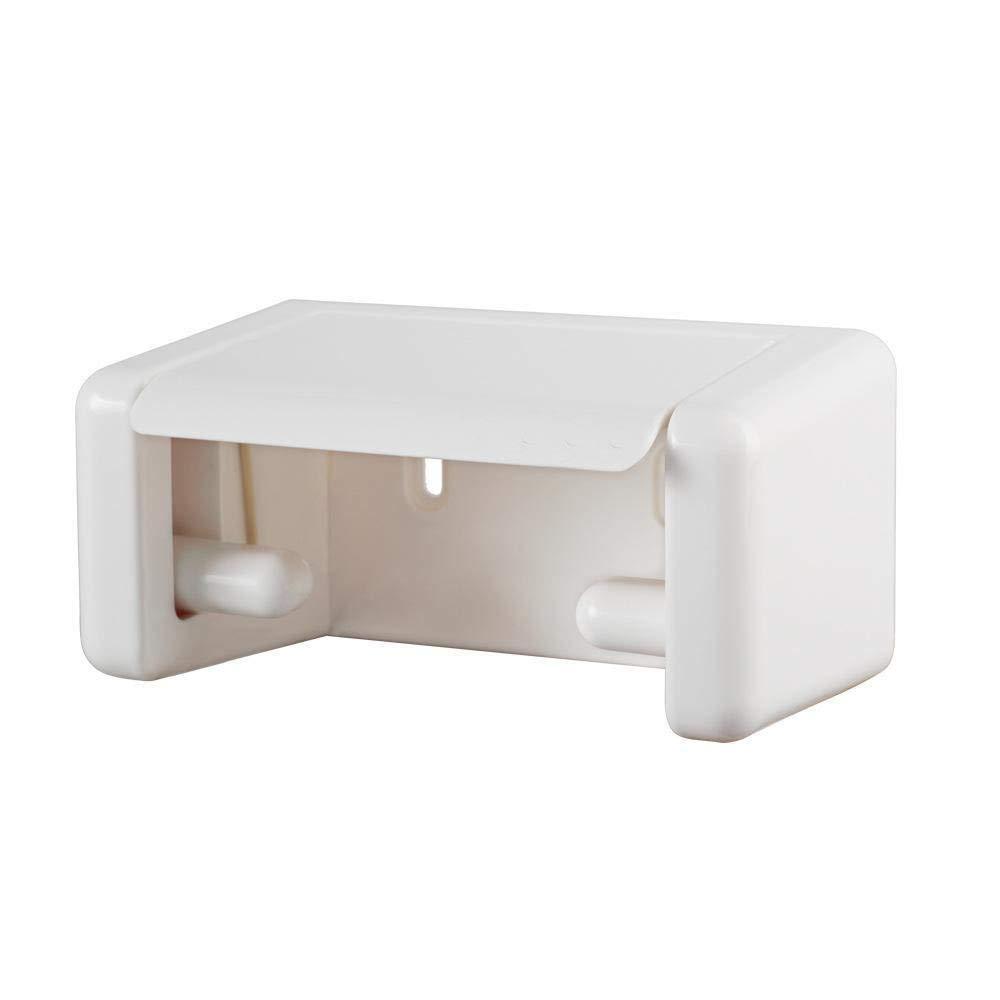 Hjyi Papel toallero, Portarrollos de baño toallero, montado en en en la pared 9c05db