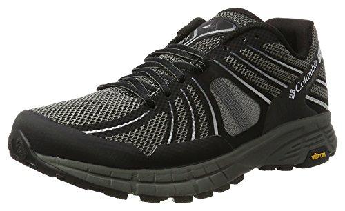 Columbia Mojave Trail Outdry, Zapatillas de Running para Asfalto para Hombre Negro (Black/ White)