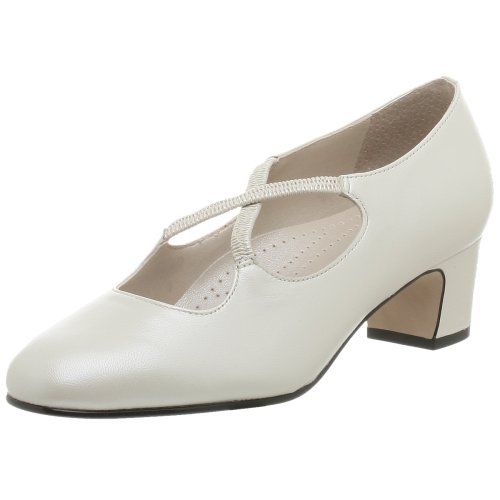 Pearl Women's White Pump Jamie TROTTERS 6aqPw