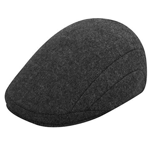 Kangol Men's Wool 507 Cap, Dark Flannel, Small ()