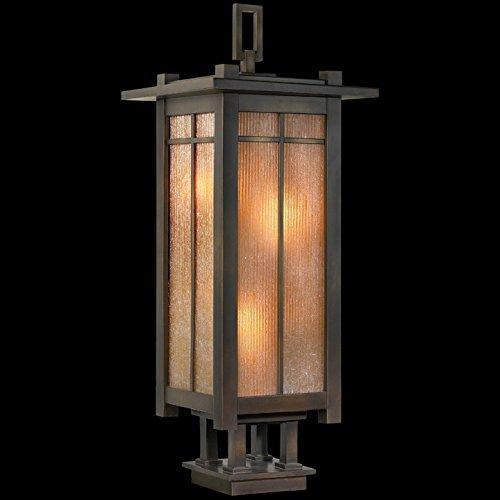Fine Art Lamps 401883, Capistrano Outdoor Post Lighting, Bronze Patina - Capistrano Outdoor Wall