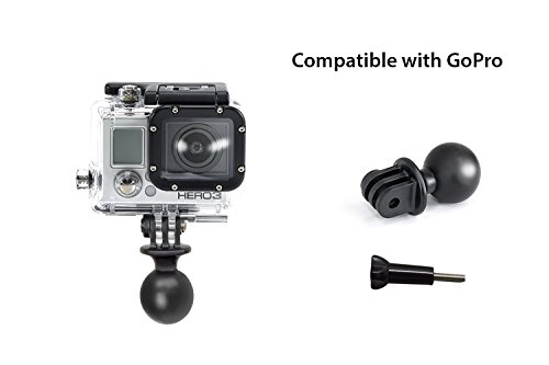 GoPro Adapter w/1'' Ball for RAM Mounts - Universal Conversion Adapter   This Vertical Adapter Allows You to Use GoPro or Action Mount with any RAM Style Mount. by Action Mount (Image #2)