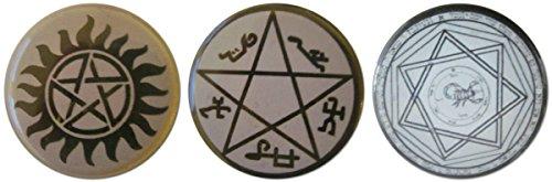 Supernatural 1.25 Inch Magnet (Meg Supernatural Costume)