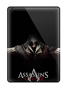 Air Scratch-proof Protection Cases Covers For Ipad/ Hot Assassin's Creed 2 Ezio Black Phone Cases