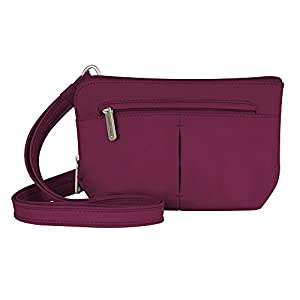 Travelon Anti Theft Classic Convertible Crossbody and Waist Pack