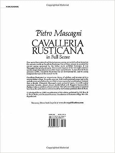 Intermezzo Cavalleria Rusticana Piano Duet Sheet Music