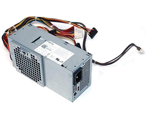 Dell 250W Power Supply for Dell Inspiron 530s, Inspiron 531s, Vostro 200 (Slim), 200s, 220s, and Studio 540s Small Form Factor Systems ()