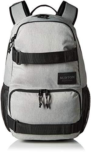 Street Skateboard Backpack - Burton Treble Yell Backpack, Gray Heather