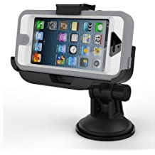 iPhone 5 OtterBox Defender Case Easy-Dock Car Mount Holder (windshield / dashboard compatible) By Encased