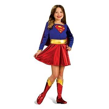 Supergirl Teenager Kostum Comic Heldin Kleid Gunstiges Karneval