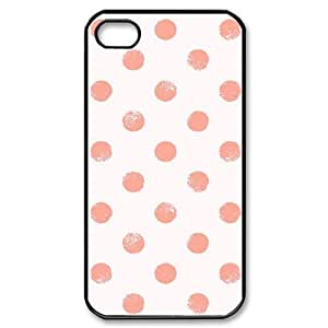 Hard Shell Case Of Polka dot Customized Bumper Plastic case For Iphone 4/4s