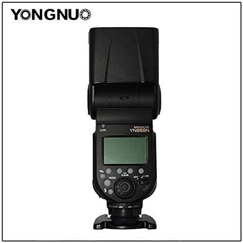 YongNuo YN968N Wireless TTL Flash Speedlite with LED Light for Nikon DSLR Camera