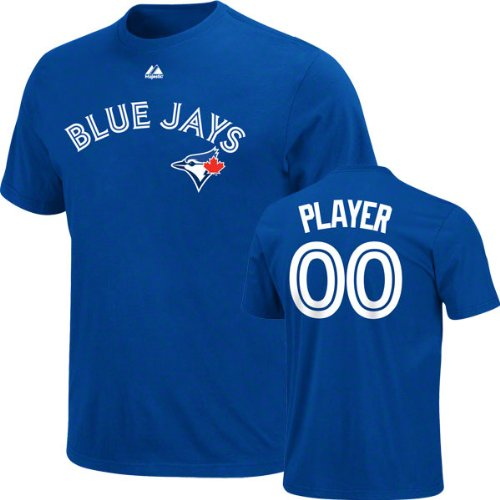 Toronto Blue Jays -Any Player- Royal Name & Number T-Shirt