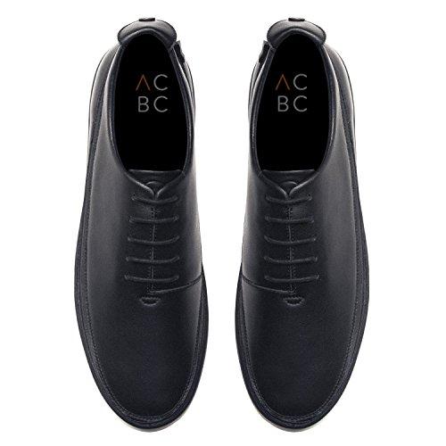 ACBC Scarpa Sneakers con Stringa Drive Suola e Scarpa Nera con Zip