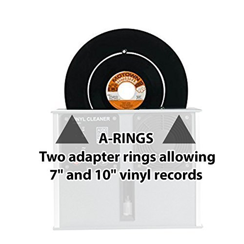 Set of A-rings for the Audio Desk Systeme Vinyl, Record, Album, LP Cleaning Machine by Audio Desk Systeme