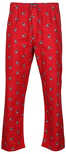Polo Ralph Lauren Mens Bear Flannel Pajama Sleep Pants (L, Red/Bear Skiing)