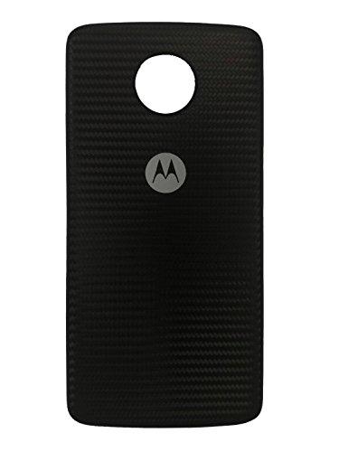 Moto Mod Style Shell for Motorola Moto Z / Z3 Phone Case Black Fiber