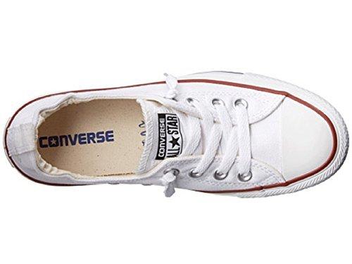 Converse Womens Chuck Taylor Shoreline Slip On Fashion Sneaker (8 (WOMEN) US, WHITE)