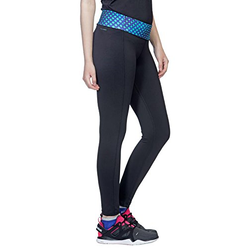 Reebok Women's Sport Essentials Straight Printed Gym Leggings