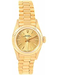 Rolex Oyster Perpetual Automatic-self-Wind Female Watch 67198 (Certified Pre-Owned)