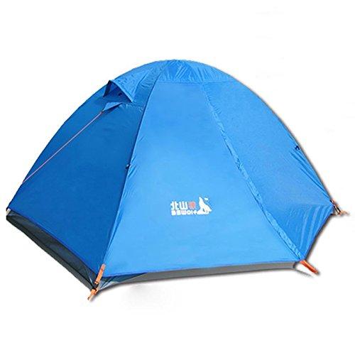 Doppel Outdoor-Camping-Zelt Zelt Paket wild wind Wintercamping Schlafsack aufblasbare Kissen gegen Sturm Paar Zeltlampe