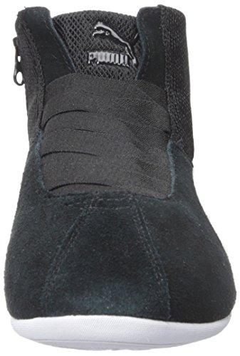PUMA Women's Eskiva Mid Textured Cross-Trainer Shoe, Black, 7 M US by PUMA (Image #4)