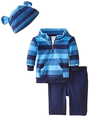 Gerber Baby Boys' 3 Piece Micro Fleece Top Cap and Pant Set by Gerber Children's Apparel that we recomend individually.
